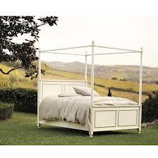 Metal Canopy Bed Louisa Metal Canopy Bed Ballard Designs