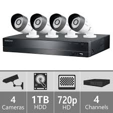 sdh b3040 samsung 4ch analog hd security camera system soltech