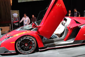 Lamborghini Veneno Roadster Owners - lamborghini veneno roadster at monster booth 19 6speedonline