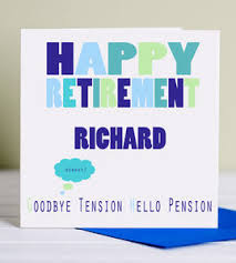 goodbye tension hello pension retirement card goodbye tension hello pension by