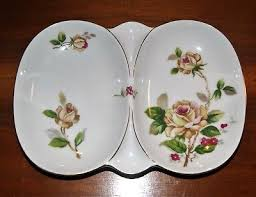 lynmore china golden vintage lynmore golden china divided relish tray 19 99