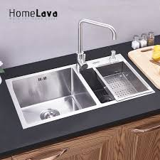 kitchen sink with faucet aliexpress com buy 304 stainless steel kitchen sink faucet