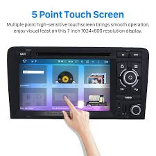 6 0 hd 1024 600 touchscreen car stereo for 2003 2013 audi a3 with