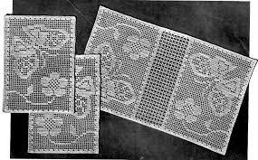 filet crochet crochet and knit