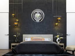 Art Deco Bedroom by 6 Creative Bedrooms With Artwork And Diverse Textures