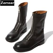 womens motorcycle riding boots zorssar 2018 new fashion women knight boots flat heel mid calf