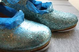 Decorate Shoes Glitter Covered Tap Shoes