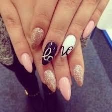 beautiful photo nail art 30 cool almond nail designs nails