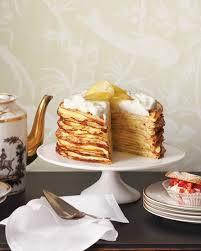 meyer lemon crepe cake martha stewart living put your easter