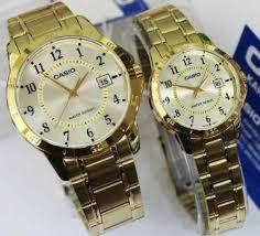Jam Tangan Casio Gold jam tangan casio original mltp v004 rantai gold