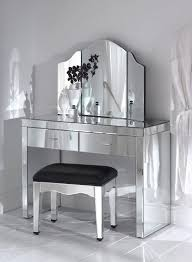 mirrored console vanity table great mirrored table console of fabulous mirrored makeup vanity