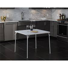 cosco square folding table cosco square textured wood grain resin top folding table