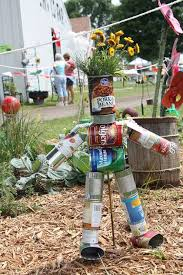 Recycled Garden Art Ideas - best 25 recycled cans ideas on pinterest recycle cans cutlery