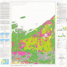 Nova Scotia Canada Map by Surficial Geology Of Parts Of Halifax Pictou Antigonish And