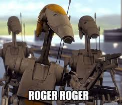 Droid Meme - roger roger 20 questions battle droid quickmeme