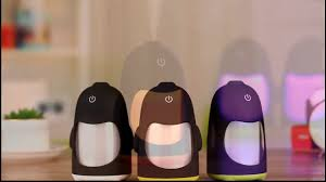 2016 new listing lovely mini humidifier penguin humidifier for car