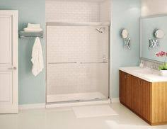 platinum alcove shower door fleurco fleurco bathroom products