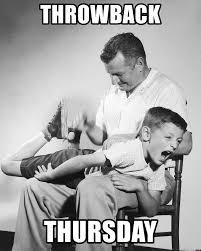 Throwback Thursday Meme - throwback thursday spanking meme generator