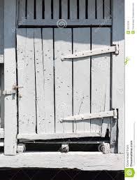 Wooden Barn Door by Old White Wooden Barn Door Royalty Free Stock Image Image 26215056