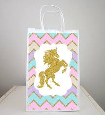 favor bag unicorn goody bags unicorn party bags unicorn favor bags
