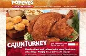 are popeyes cajun turkeys lipstick alley