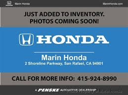 2014 used honda civic sedan 4dr cvt ex l at marin honda serving