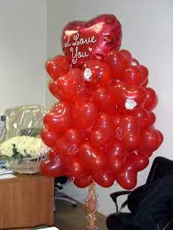 heart balloon bouquet hearts balloons creative crafts and valentines day ideas