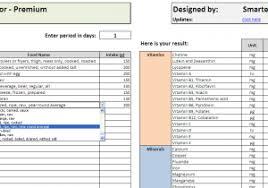 Diet Tracker Spreadsheet Diet Tracker Spreadsheet Templates Greenpointer Us