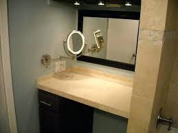 beautiful powder rooms lights beautiful magnifying makeup mirror design for powder room