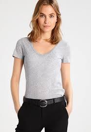 j crew basic t shirt heather graphite women huge inventory
