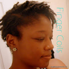 how to taper 4c hair finger coils on 4c tapered natural hair young fabulous natural