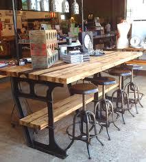 industrial kitchen table furniture vintage metal kitchen tables and chairs iron wood industrial