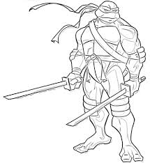 teenage mutant ninja turtles coloring pages pdf printable free