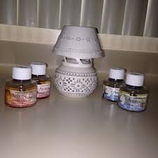 find more aroma glow fragrance lamp and 4 new 3 oz oil cartridges