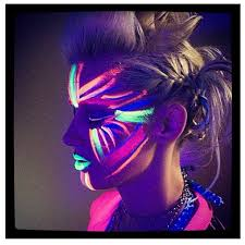 Glow In The Dark Halloween Costume Ideas by Best 25 Glow Face Paint Ideas On Pinterest Diy Blacklight Party