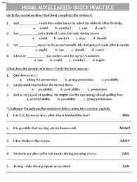 verbs auxiliaries common core grammar workshop grade 4