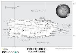 Map Of Puerto Rico Should Puerto Rico Be A State Nat Geo Education Blog