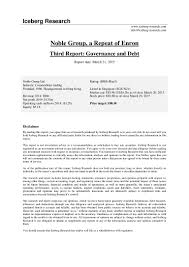 Sql Server Developer Resume Sample Noble Group Report 3 Governance And Debt