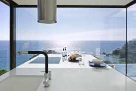 energy efficient modern oceanfront housethis secluded modern house