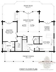 super greenwood ii log home plan by southland log homes