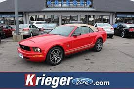 ford mustang 2009 convertible 2009 ford mustang classics for sale classics on autotrader
