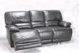 Grey Recliner Sofa Chic Grey Leather Reclining Sofa Liam Grey Recliner Sofa