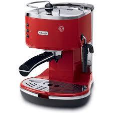 shop delonghi die cast manual espresso machine at lowes com