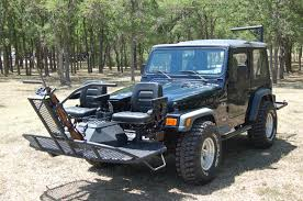 jeep wrangler custom black black quail seat jeep twilight metalworks custom hunting rigs
