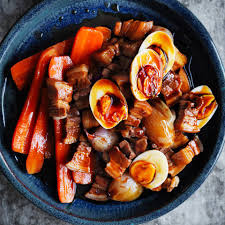Delicious Main Course With Braised Pork Cheeks Pickled The Meatmen Recipe At