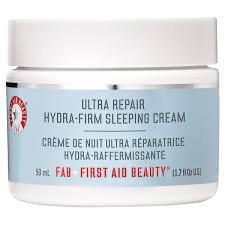 first aid beauty ultra repair hydra firm overnight sleeping cream