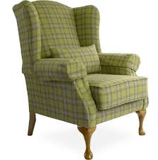 Tartan Armchairs Highlander Chair Upholstered By Feather U0026 Weave