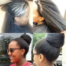 pictures if braids with yaki hair italian yaki hair very full and thick crochet braids and wefts
