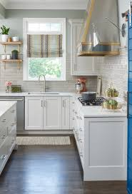 Mixed Metals Kitchen by Get The Look Colorful Statement Kitchen Atlanta Magazine
