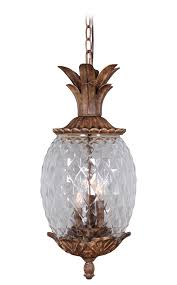 Outdoor Hanging Lights by Marianahome Pineapple 3 Light Pendant U0026 Reviews Wayfair